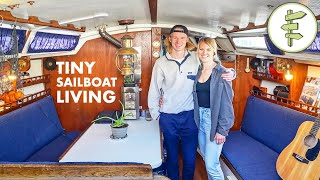 Couple's Low-Cost Living on a Sailboat in the City