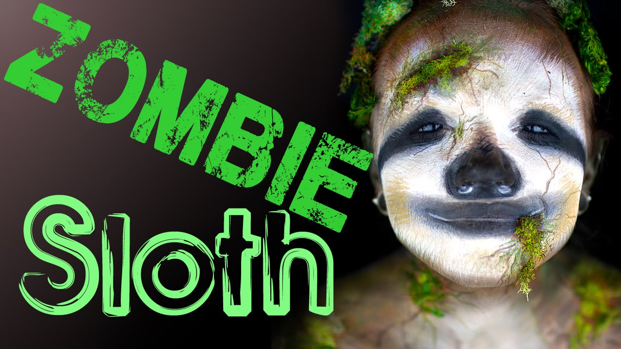 Makeup Ideas sloth makeup : Zombie Sloth Makeup Tutorial.... wait, what?? - YouTube