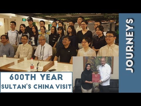 JOURNEYS: 600th Year of Ancient Sultan's Travel To China -with Dr. Jimmy Wu