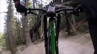 Breaking in the new bikes Demo 8 & Nukeproof @ Crank It Up, Whistler Melissa & Alex August 2015