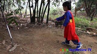 Feeding And Playing With Animals – Bé Chơi Và Cho Vật Nuôi Ăn ❤ AnAn ToysReview TV ❤