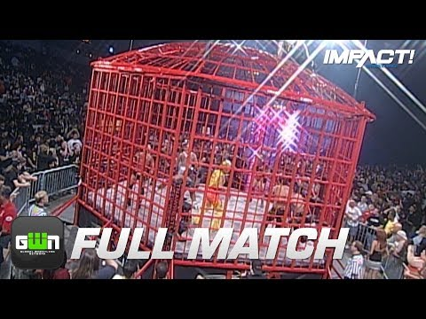 10-Man X-Division Steel Asylum Cage Match (TNA Bound For Glory 2008) | IMPACT Wrestling Full Matches
