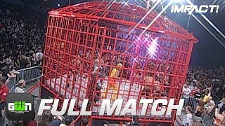 Download 10-Man X-Division Steel Asylum Cage Match (TNA Bound For Glory 2008) | IMPACT Wrestling Full Matches Mp3 and Videos