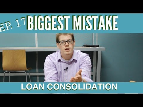Biggest Mistake With Student Loan Consolidation