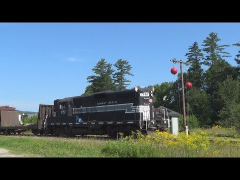 Whitefield Ball Signal Freight Extra: Conway Scenic Railroad