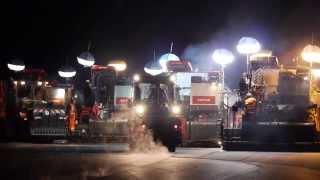 Zweimal 48 Stunden Fahrbahnsanierung der Autobahn A9