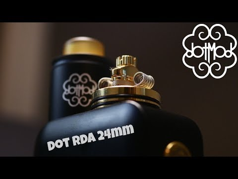 Dotmod dotRDA 24mm Review/Build & Giveaway | First 1 Post RDA!