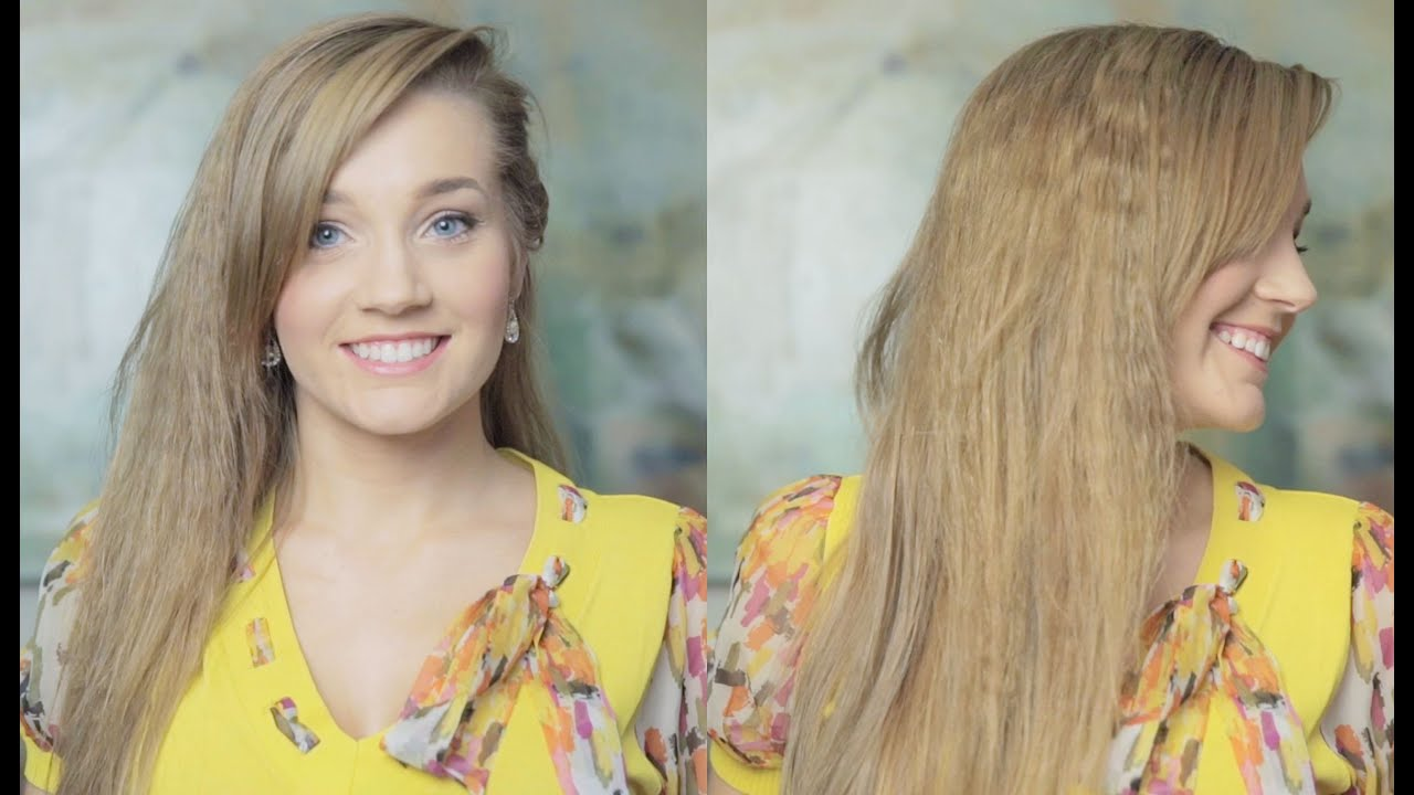 80s Inspired Crimped Hair Tutorial No Crimping Iron Needed YouTube