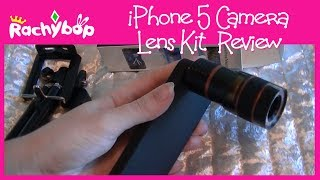 iPhone 5 Camera Lens Kit Review