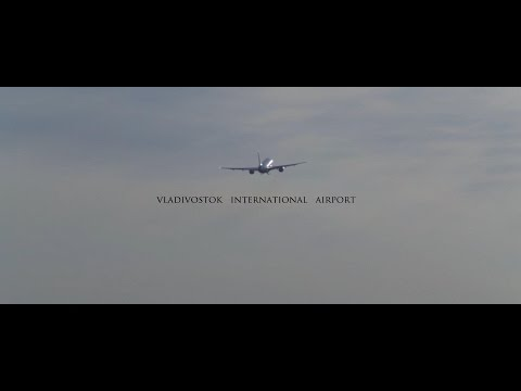 Vladivostok International Airport Лучшие кадры 2016 Full HD