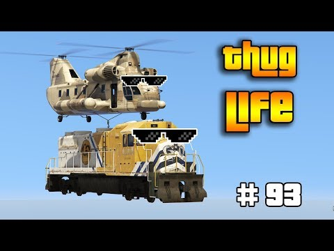GTA 5 ONLINE : THUG LIFE AND FUNNY MOMENTS (WINS, STUNTS AND FAILS #93)