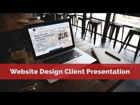 Website Design Client Presentation - Law Firm (Lawyer) in Pasco County, FL