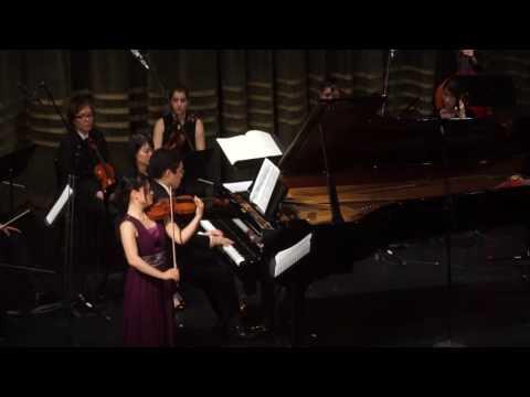 Bartók: Rumanian folk dance  Haruka Nagao(Vn) & Narihito Mukeda(Pf) 長尾春花(ヴァイオリン)&向田成人(ピアノ)