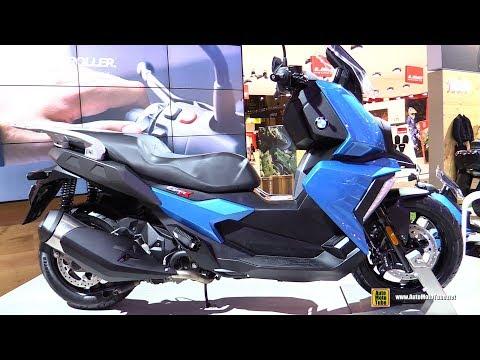 2018 BMW C400X Scooter - Walkaround - 2017 EICMA Milan Motorcycle Exhibition