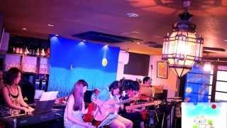 2014年8月10日(日)渋谷のバリレストラン、 モンキーフォレストでのラ...