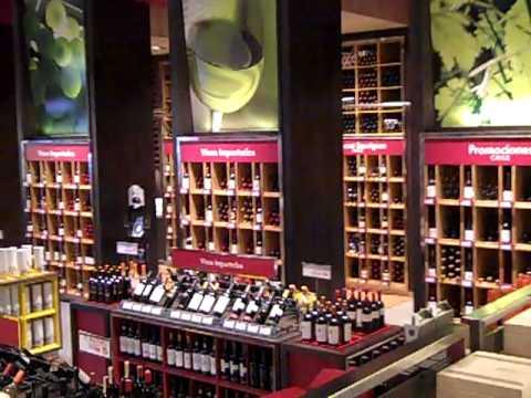 Wine Shop in Santiago