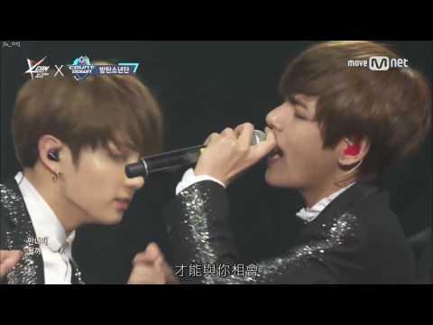 【Live中字】170330 防彈少年團(BTS) - Spring Day(春日)@KCON Mexico