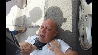 Bagarre : Motards vs automobilistes | Belgique - France