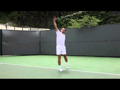 THE ONEHANDED TOPSPIN BACKHAND LOB