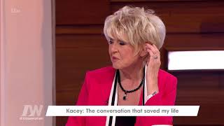 Kacey Ainsworth's Partner Saved Her Life By Telling Her She Was Too Thin | Loose Women