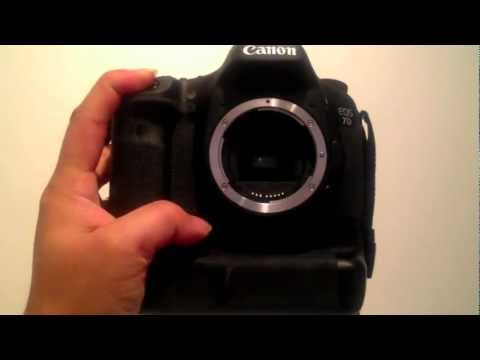 Canon EOS 7D 8 fps continuous shooting full burst mode