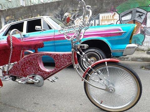 LOW RIDER CAR AND BIKE ( NAS RUAS DE SÃO PAULO...BRASIL)