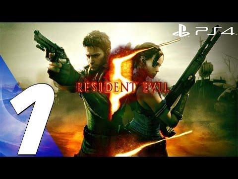 Resident Evil 5 (PS4) - Gameplay Walkthrough Part 1 - Prologue [1080P 60FPS]