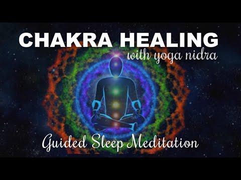 Chakra Healing & Yoga Nidra Guided Sleep Meditation for Profound Deep Healing Sleep