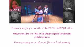 Blackpink - 'forever young' lyrics (eng/rom/han) + dance practice