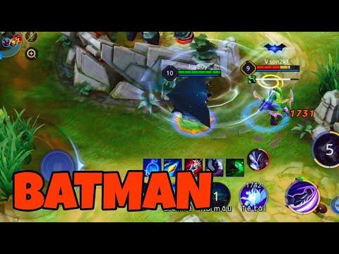 Liên Quân Mobile : Batman Đi Rừng 1 Combo 1 Kill Chỉ Với 1 Món Đồ