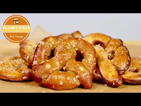 recette-soft-pretzels-façon-nyc- -new-york-ep8- -william's-kitchen