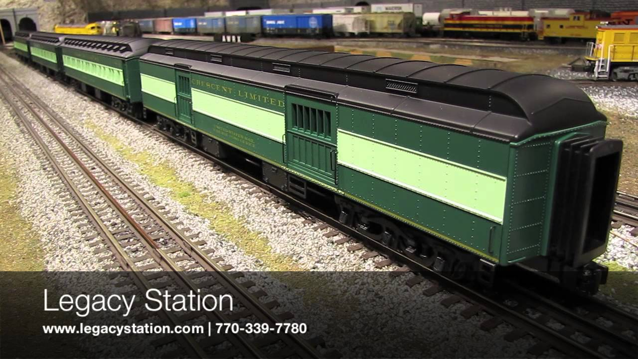 Lionel Southern Heavyweight Passenger Cars Youtube
