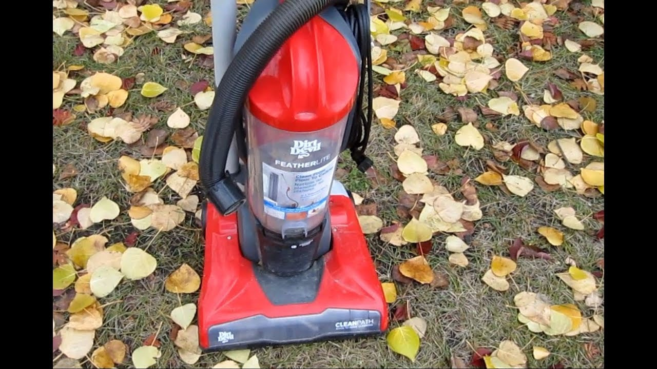 Dirt Devil upright vacuum (Belt Burning Smell and No Suction) FIX