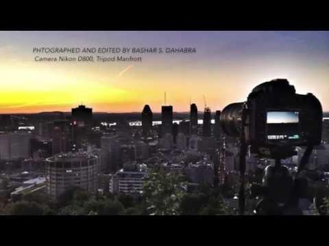 Montreal City Skyline Sun Rise 12th Sept 2016