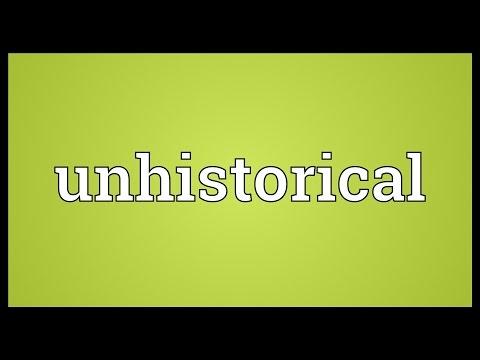 Header of unhistorical