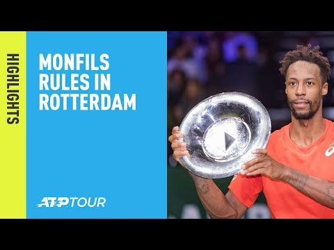 Highlights: Monfils Beats Wawrinka In Rotterdam 2019 For Eighth ATP Tour Crown