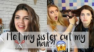 One of Sophie Clough's most viewed videos: MY SISTER CUT MY HAIR?! Gone Wrong?! |  Sophie Clough