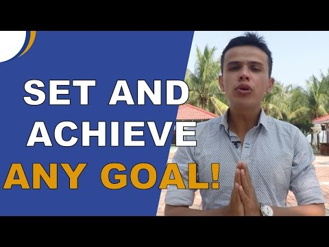 Set And Achieve Any Goal You Want (Dreams). Secret #3