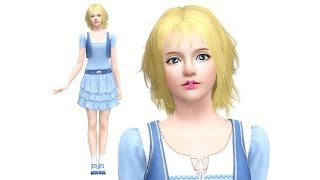 The Sims 3: How to Create a Beautiful Sim (CAS Cute Girl!)(Subscribe : http://www.youtube.com/simspsy Watch the previous
