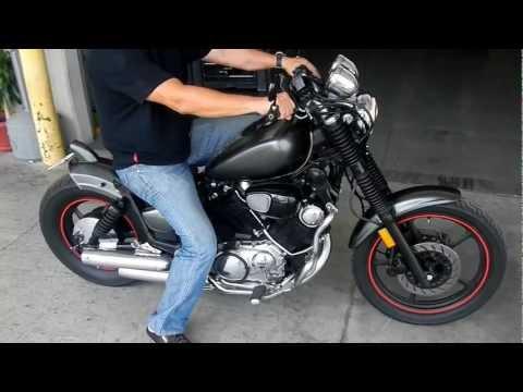 Yamaha XV 750 Virago Bobber | FunnyCat TV