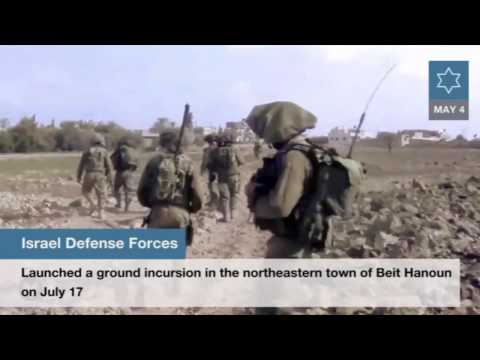 The Times of Israel on testimonies from Operation Protective Edge