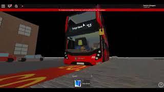 Roblox Londres Hackney & Limehouse autobús Simulador E400MMC última flota SLN 10328 en la ruta N15