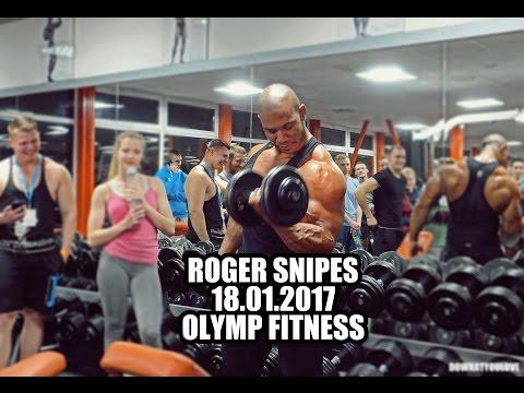 Roger Snipes - Olymp fitness /seminary & training / fitness model UK (sk titulky) 2017