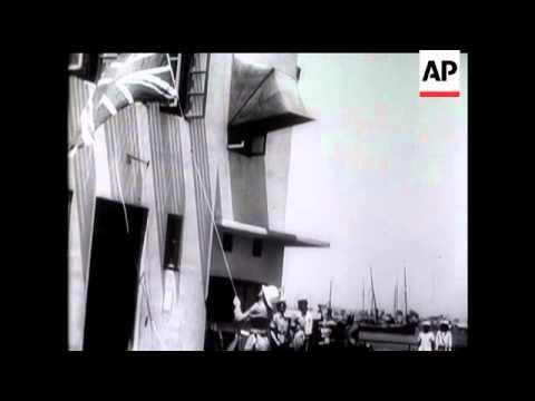 Last British Troops Leave Palestine - 1948