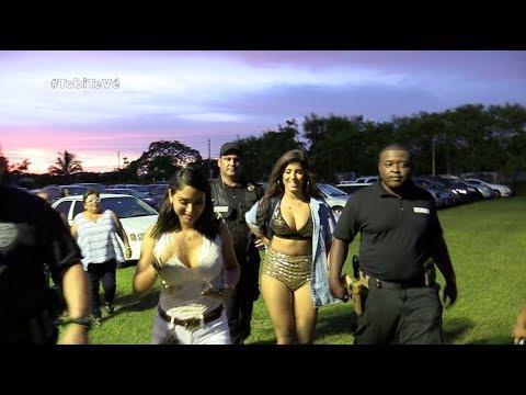 Yahaira Plasencia llega a Miami con guardaespaldas y nadie se pudo tomar fotos con la salsera