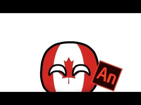 COUNTRYBALLS | первая анимация в  Adobe Animate cc 2019