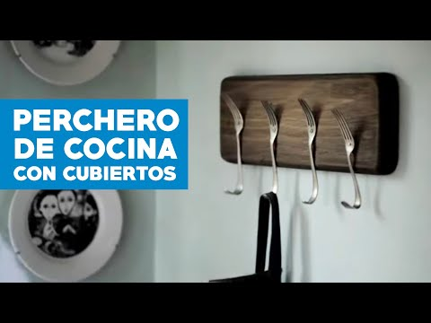 Homecenter sodimac presenta c mo hacer un perchero de for Como hacer un perchero de pared