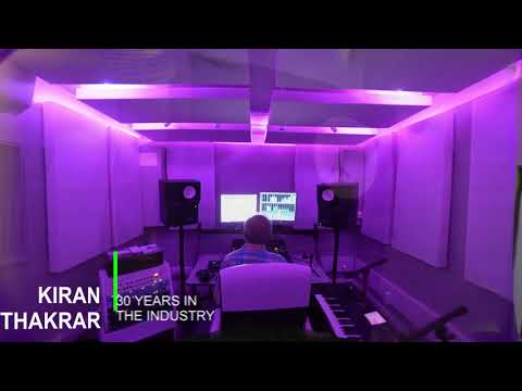 Globalrootz Recording Studio London owned by British Asian composer producer Kiran Thakrar