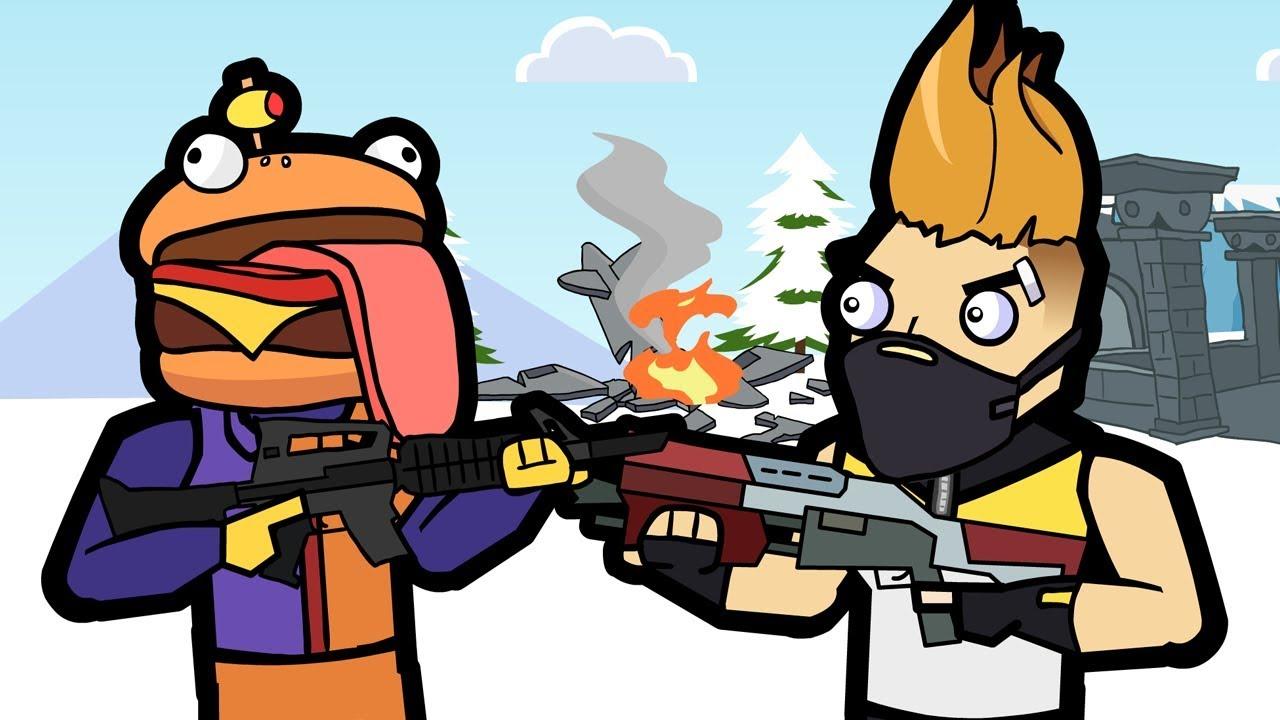 The Squad | Frosty Flights & Durr Burger | Original Fortnite Animation