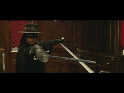 Mask Of Zorro -1998 - Best Fight Scene - HD